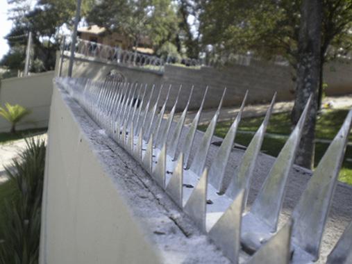 Lança de proteção para muro, lâminas para segurança patrimonial, proteção sobre muro campinas, fábrica de proteção sobre muro, proteção sobre muro orçamento