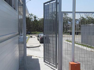 Portões Telashop - 1 Folha, 2 folhas e Portão de correr de aço