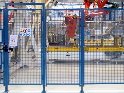 Cercamento e proteção industrial atendendo à norma NR12