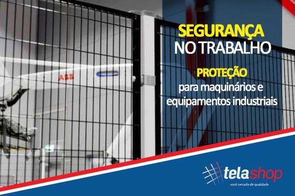 8dbc8d6f1 Tela de proteção para máquinas e equipamentos industriais.