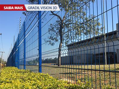 Esta é uma imagem ilustrativa do Gradil Vision 3D