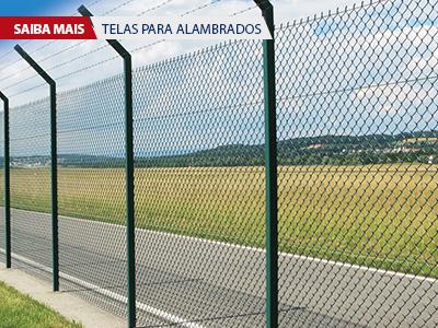 Fornecimento e instalação dos mais diversos tipos de Alambrados. Soluções para Agropecuária, Indústria e Construção civil. Atendemos todo Brasil.